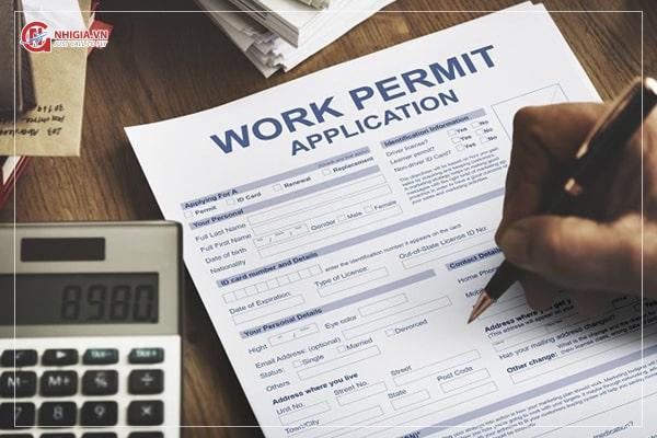 cấp giấy phép lao động 1